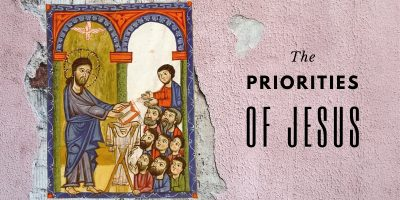 The Priorities of Jesus (Mark1:29-39)