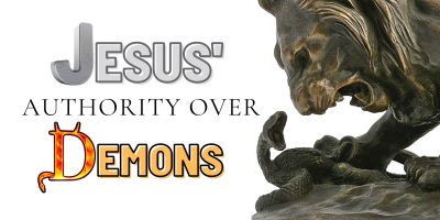Jesus' Authority Over Demons (Mark 5:1-20)